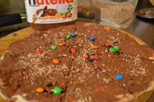 Nutella Pizza Image